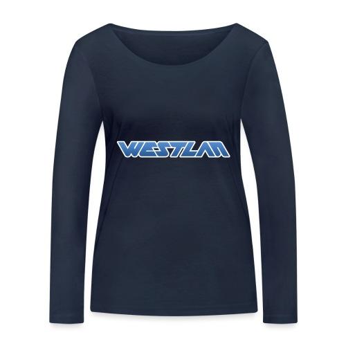 WestLAN Logo - Women's Organic Longsleeve Shirt by Stanley & Stella