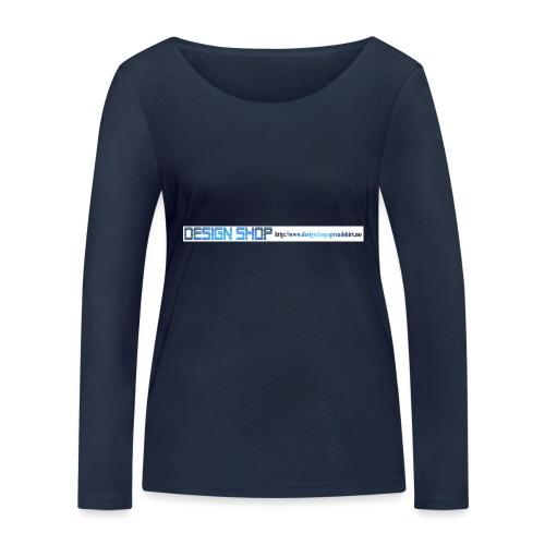 ny logo lang - Økologisk langermet T-skjorte for kvinner fra Stanley & Stella