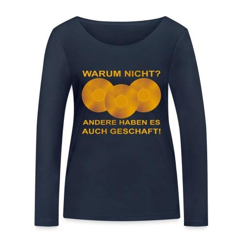 Goldene Schallplatte - Frauen Bio-Langarmshirt von Stanley & Stella