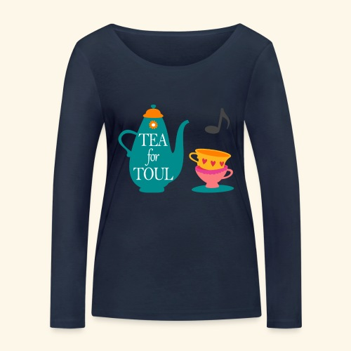 Tea for Toul - T-shirt manches longues bio Stanley & Stella Femme