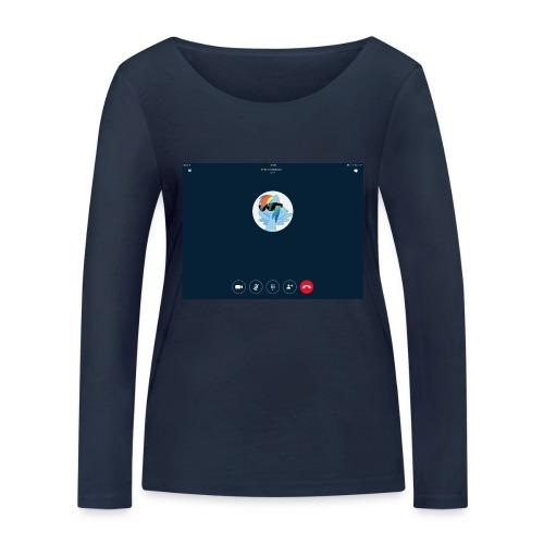 My best friend❤️❤️❤️ - Frauen Bio-Langarmshirt von Stanley & Stella
