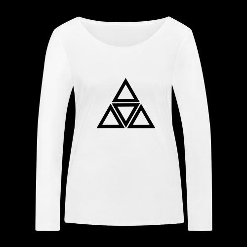 triangle - Maglietta a manica lunga ecologica da donna di Stanley & Stella