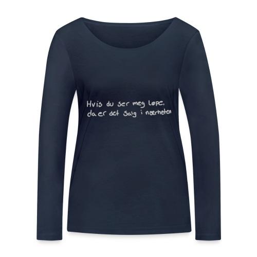 Salg løpe - Økologisk langermet T-skjorte for kvinner fra Stanley & Stella