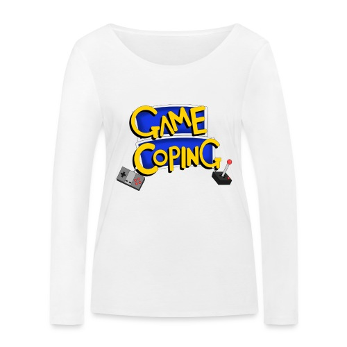 Game Coping Logo - Women's Organic Longsleeve Shirt by Stanley & Stella