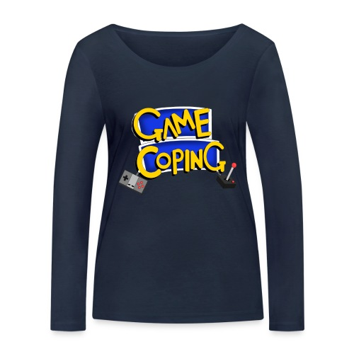 Game Coping Logo - Women's Organic Longsleeve Shirt by Stanley & Stella