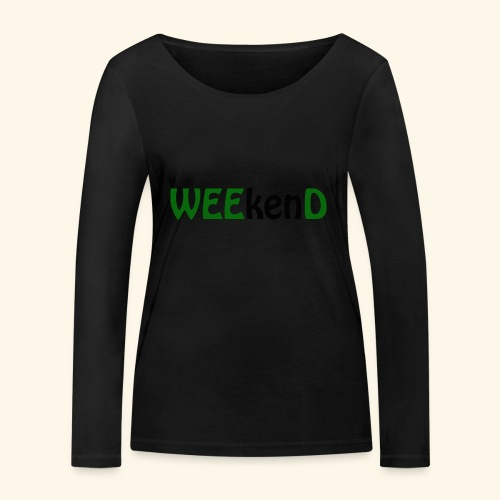 weed - Frauen Bio-Langarmshirt von Stanley & Stella