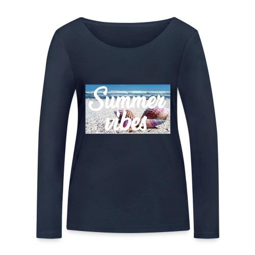 Summervibes - Frauen Bio-Langarmshirt von Stanley & Stella