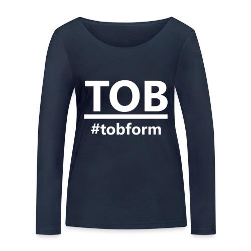 #tobform T-Shirt - Frauen Bio-Langarmshirt von Stanley & Stella