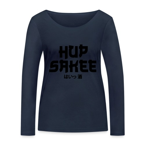 Hup Sakee - Vrouwen bio shirt met lange mouwen van Stanley & Stella
