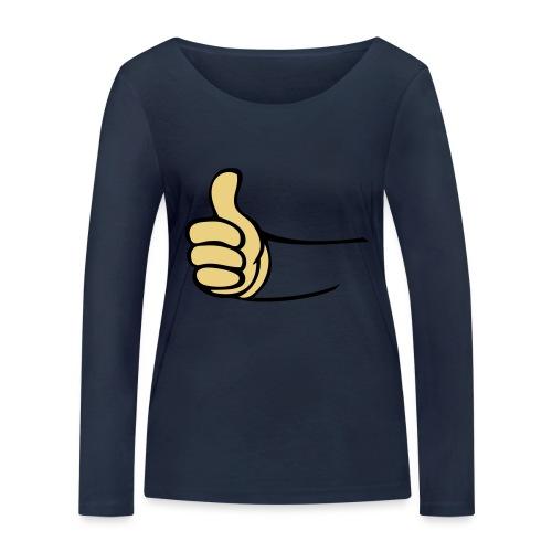 Vault - Vrouwen bio shirt met lange mouwen van Stanley & Stella