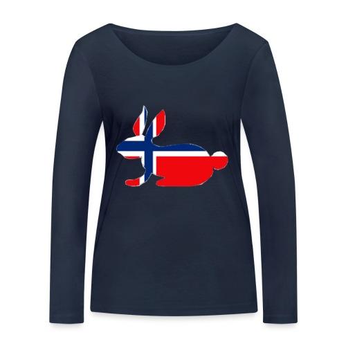 norwegian bunny - Women's Organic Longsleeve Shirt by Stanley & Stella