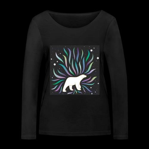 polar ours - T-shirt manches longues bio Stanley & Stella Femme