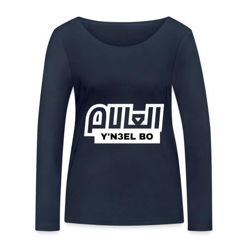 Y'N3EL BO L3ALAM - T-shirt manches longues bio Stanley & Stella Femme