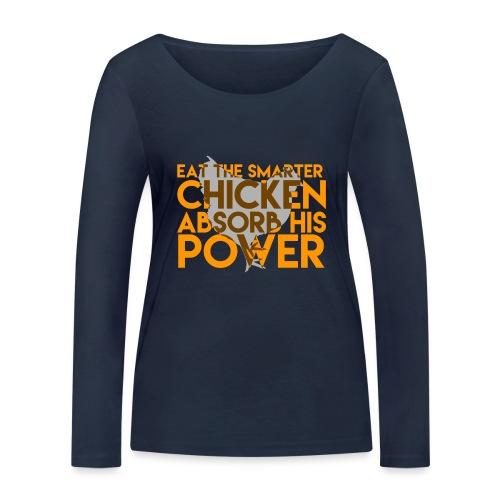 OITNB - Chicken - T-shirt manches longues bio Stanley & Stella Femme