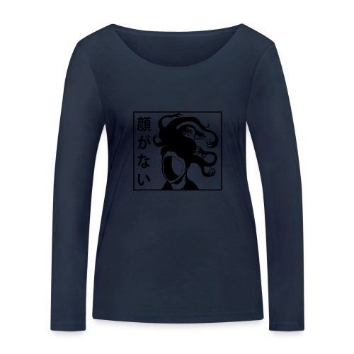 Sans Visage Futakuchi Onna - T-shirt manches longues bio Stanley & Stella Femme