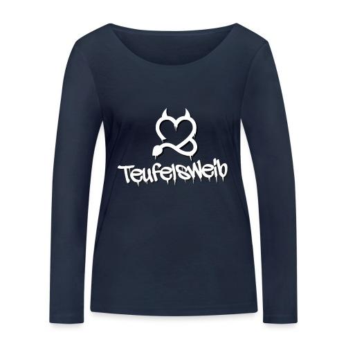 Teufelsweib - Frauen Bio-Langarmshirt von Stanley & Stella