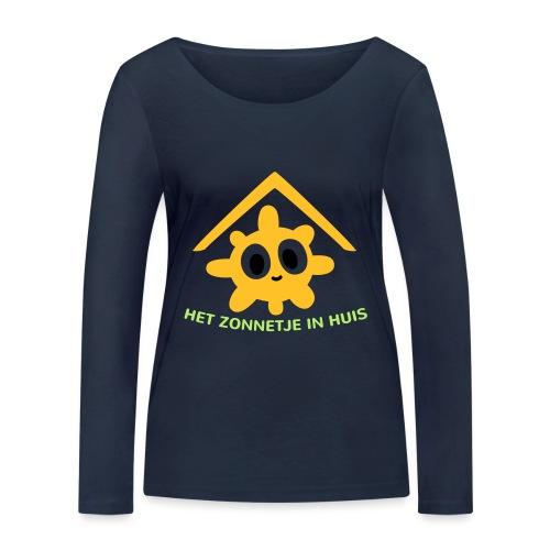 Grappige Rompertjes: Het zonnetje in huis - Vrouwen bio shirt met lange mouwen van Stanley & Stella