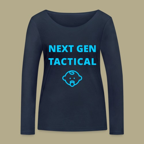 Tactical Baby Boy - Vrouwen bio shirt met lange mouwen van Stanley & Stella