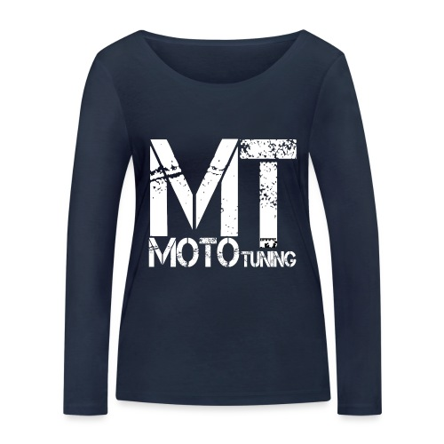 MotoTuning Logo - Women's Organic Longsleeve Shirt by Stanley & Stella