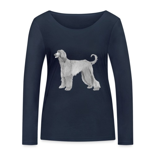 afghanskMynde - Økologisk Stanley & Stella langærmet T-shirt til damer