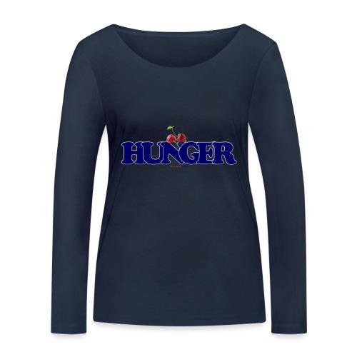 TShirt Hunger cerise - T-shirt manches longues bio Stanley & Stella Femme