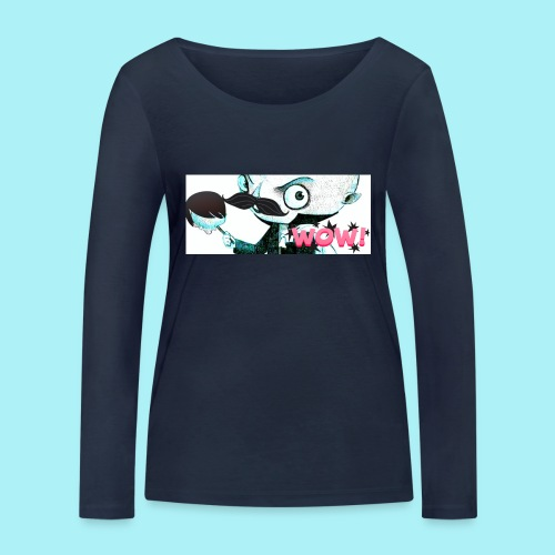 Monsieur vampire WOW - T-shirt manches longues bio Stanley & Stella Femme
