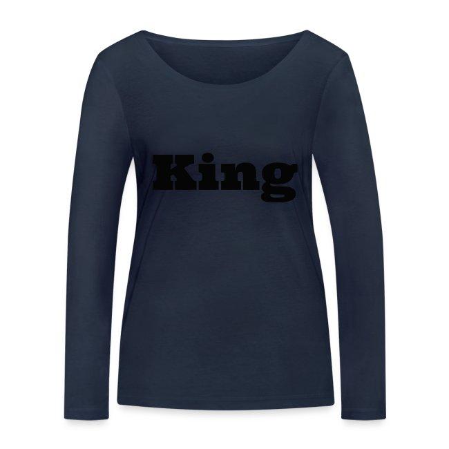Snapback king grijs/zwart