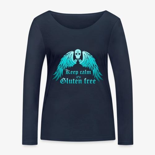Keep calm it's Gluten free - Women's Organic Longsleeve Shirt by Stanley & Stella