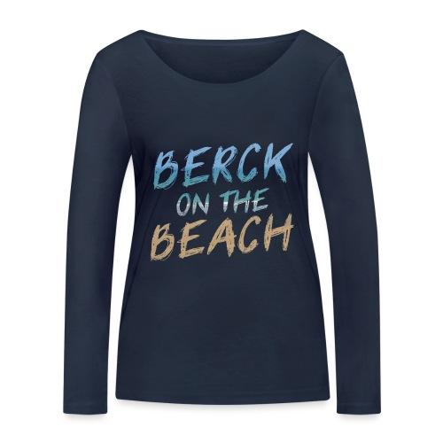 Berck on the beach II - T-shirt manches longues bio Stanley & Stella Femme