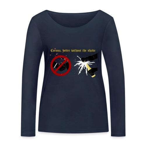 corona - Ekologisk långärmad T-shirt dam från Stanley & Stella