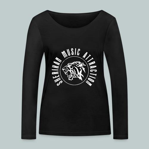 The Sherikan Music Attraction logo - Ekologisk långärmad T-shirt dam från Stanley & Stella