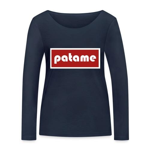 patame Logo - Frauen Bio-Langarmshirt von Stanley & Stella