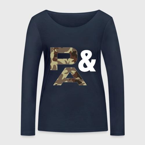 P&A CAMUFLAJE - Camiseta de manga larga ecológica mujer de Stanley & Stella