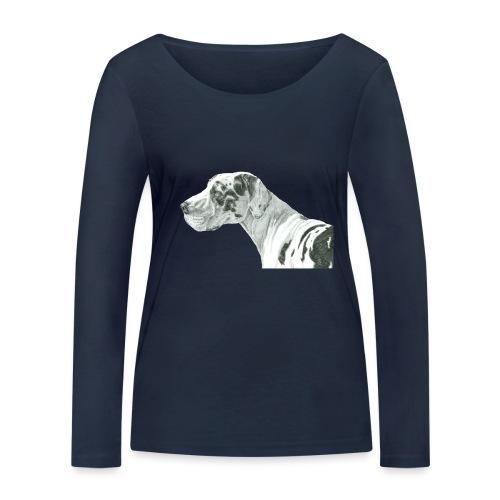 grand danios harlequin - Økologisk Stanley & Stella langærmet T-shirt til damer