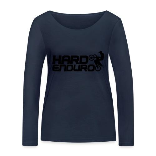 Hard Enduro Biker - Frauen Bio-Langarmshirt von Stanley & Stella