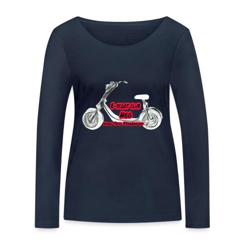 Neorider Scooter Club - T-shirt manches longues bio Stanley & Stella Femme
