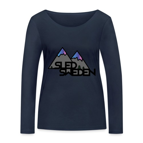 SledSweden Official Logo Special Edition - Ekologisk långärmad T-shirt dam från Stanley & Stella