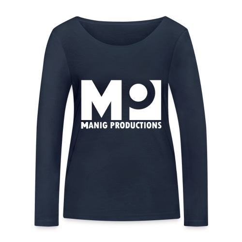 ManigProductions White Transparent png - Women's Organic Longsleeve Shirt by Stanley & Stella