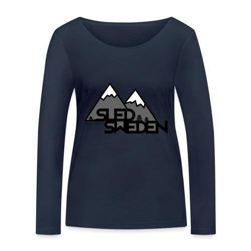 SledSweden Logo - Ekologisk långärmad T-shirt dam från Stanley & Stella