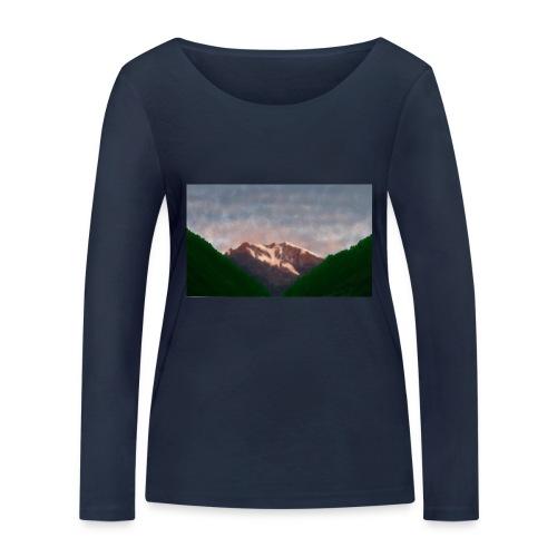 Mountain - Women's Organic Longsleeve Shirt by Stanley & Stella