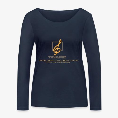 Where Words fails Music speaks!!! - Økologisk Stanley & Stella langærmet T-shirt til damer