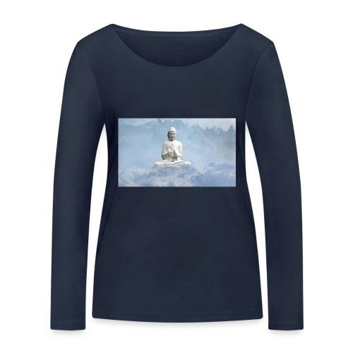 Buddha with the sky 3154857 - Women's Organic Longsleeve Shirt by Stanley & Stella