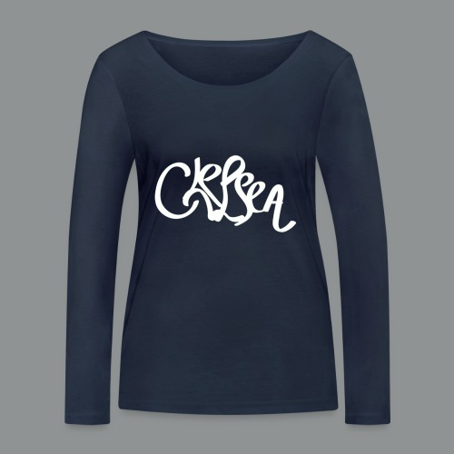 Kinder/ Tiener Shirt Unisex (rug) - Vrouwen bio shirt met lange mouwen van Stanley & Stella