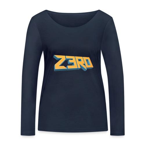 The Z3R0 Shirt - Women's Organic Longsleeve Shirt by Stanley & Stella