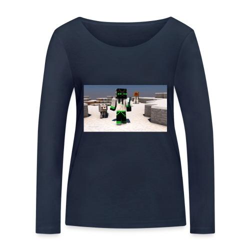 t-shirt - Ekologisk långärmad T-shirt dam från Stanley & Stella