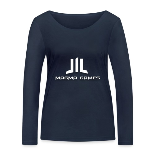 Magma Games t-shirt grijs - Vrouwen bio shirt met lange mouwen van Stanley & Stella