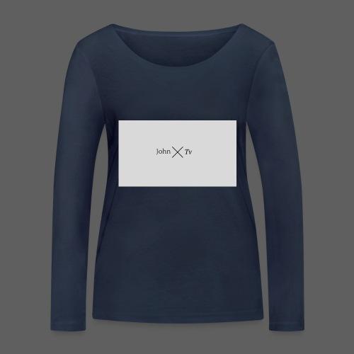john tv - Women's Organic Longsleeve Shirt by Stanley & Stella