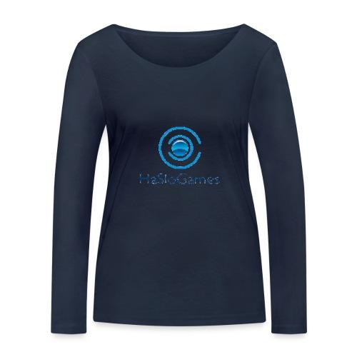 HasloGames Producten officieel logo - Vrouwen bio shirt met lange mouwen van Stanley & Stella