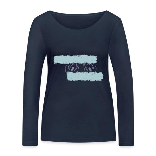 nieobcy domyślny - Ekologiczna koszulka damska z długim rękawem Stanley & Stella