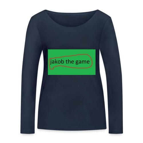jakob the game - Økologisk Stanley & Stella langærmet T-shirt til damer